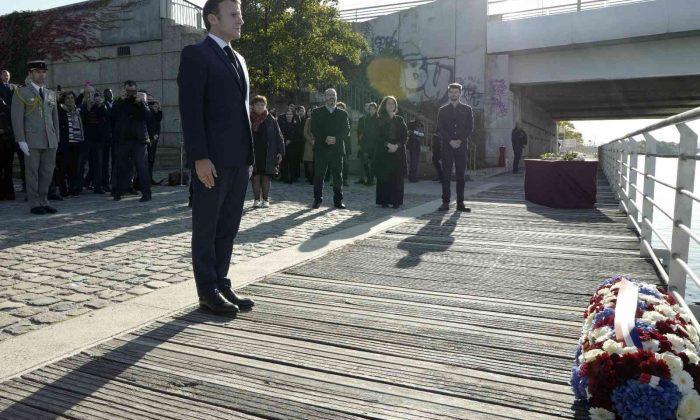 Fransa tarihinde bir ilk: Cumhurbaşkanı Macron yüzlerce Cezayirlinin öldürüldüğü katliamın 60. yıldönümünü törenine katıldı