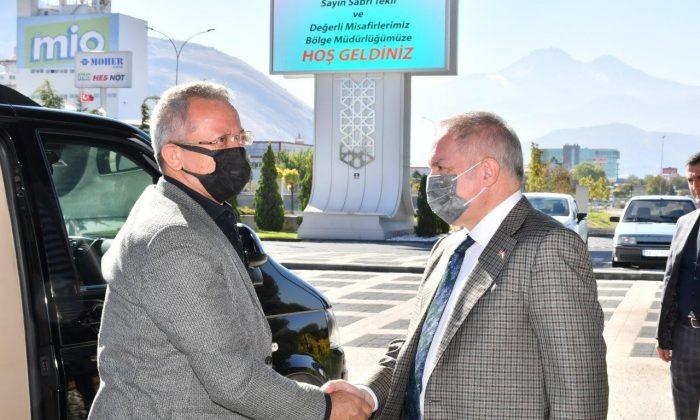 Kayseri ve Mersin Tarsus OSB heyetleri Kayseri'de bir araya geldi