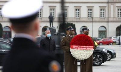 Milli Savunma Bakanı Akar, Polonyalı mevkidaşı Blaszczak ile görüştü