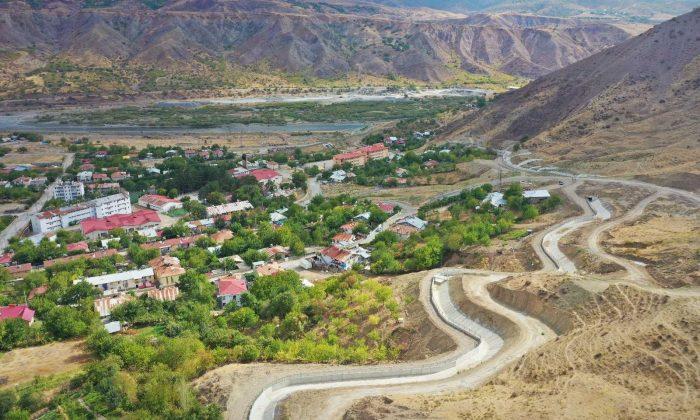 Palu'da Taşkın Koruma Projesi tamamlandı