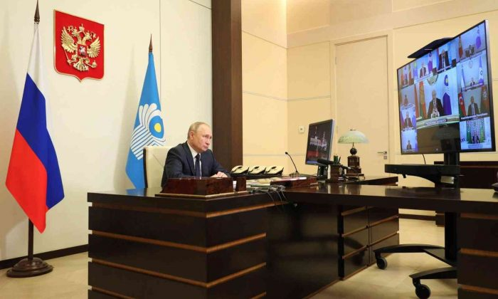 """Putin'den Dağlık Karabağ vurgusu: """"BDT'ye üye ülkeler arasında keskin çatışmaların olması gerçekten çok üzücü"""""""